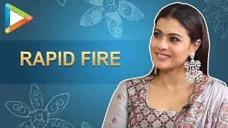 Viral Alert: Kajol's SUPER-DUPER rapid fire on SRK, Salman, Pee Cee | Helicopter Eela - HUNGAMA