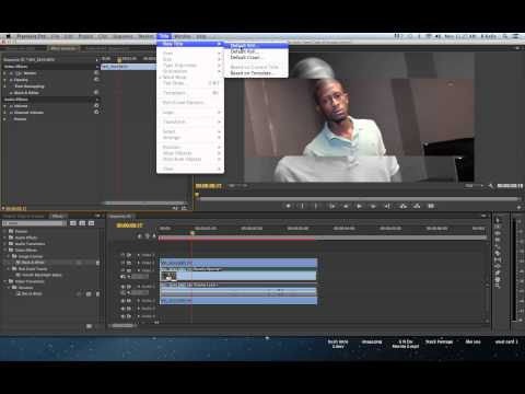 Adobe Premiere CS6 Crop Effect Tutorial
