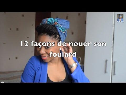 Tutoriel /#2/ 12 façons de nouer son foulard - 12 ways to wear a scarf