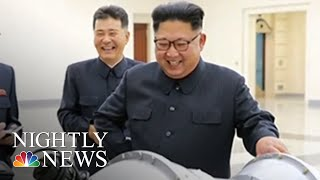 North Korea Says It's Suspending Nuclear And Missile Tests | NBC Nightly News - NBCNEWS