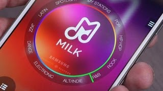 Hands-on with Samsung's Milk Music - CNETTV