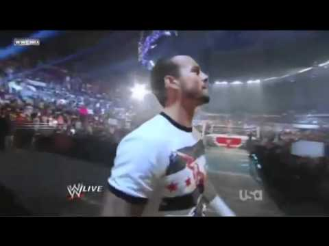 CM Punk Cult Of Personality Monday Night Raw July 25th Entrance