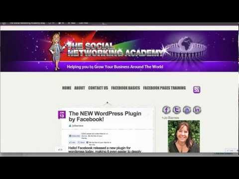 New Facebook Plugin for WordPress