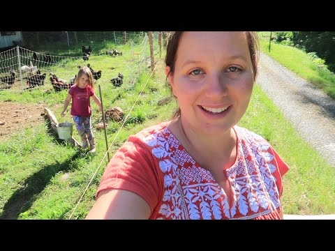 Homestead Life: Giving Young Children Responsibility On The Homestead!