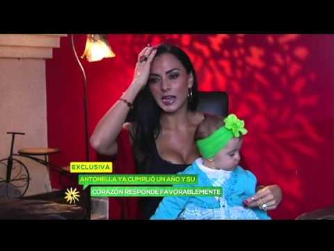 Hija de Ivonne Montero supera mal cardiaco