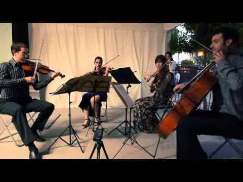 Andalucia en la musica. Concierto del cuarteto de cuerda Gaia