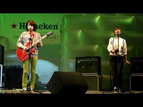 2009.12.24 旺福樂團 海尼根主題曲Quando,Quando,Quando ( 海尼根冰封體驗表演)