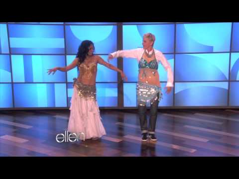 Ellen Learns to Belly Dance