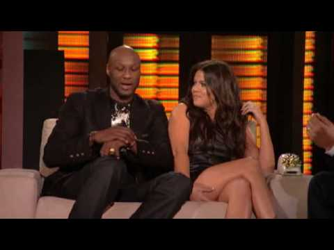 Lopez Tonight - Khloe Kardashian Odom & Lamar Odom Interview - DNA Test & iBoning