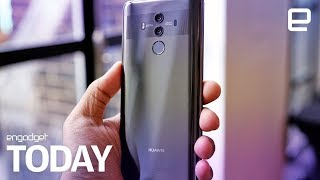 Huawei and ZTE banned in US government sector | Engadget Today - ENGADGET