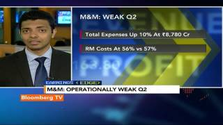 Earnings Edge: M&M Q2: Margins Disappoint - BLOOMBERGUTV
