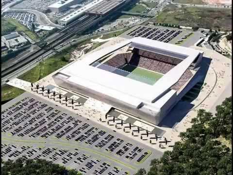 2014 Brazil World Cup Stadiums - Estadios De La Copa Del Mundo Brasil 2014 - Brasil Mundo 2014
