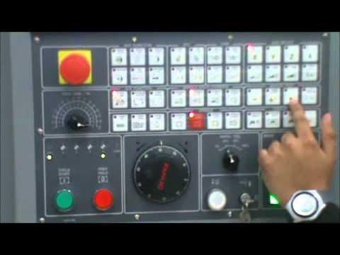 CNC LEADWELL V-30 Cero Pieza y Cero Maquina.wmv