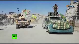 Syrian drift: SDF celebrating Raqqa's liberation from ISIS - RUSSIATODAY