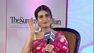 "Women Of Steel Summit: Fatima Shaikh speaks on trolls, says ""Logon Ka kaam hai Bolna"" - NEWSXLIVE"