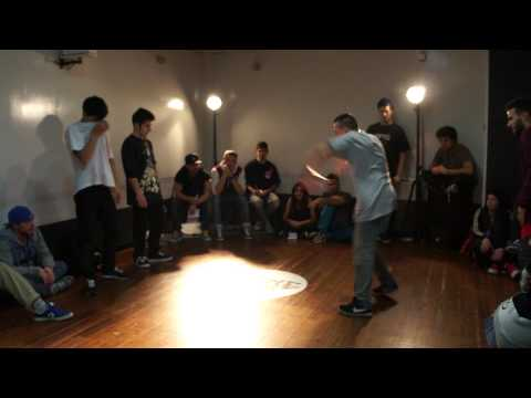Johnny & Piranha vs Zeb & Maiki  @ Battle Fever Mixed Style Edition (Tie Break 1_Breakin')