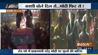 PM Modi's Roadshow In Varnasi: Piyush Goyal: Modi जी ने देश को कभी समुदाय के हिसाब से नहीं बांटा - INDIATV