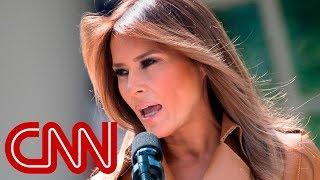 Melania Trump weighs in on border separations - CNN
