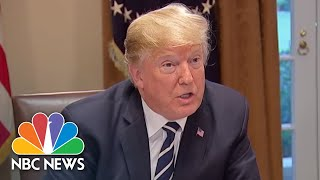 "President Donald Trump: I Have ""Full Faith And Support"" For U.S. Intelligence Agencies 