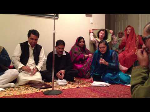 2nd Taqdees-e-Adab Mushaira 01252013----Part 01 - ZARA SYED RECITING SALIM SYED'S NAATIA KALAM