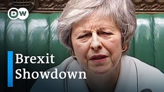 What's at stake ahead of the Parliament's Brexit Vote | DW News - DEUTSCHEWELLEENGLISH