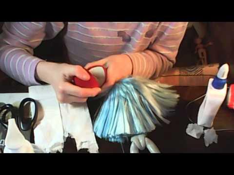 Как сделать туфли для монстер хай из папье-маше
