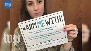 #ArmMeWith: Teachers respond to Trump with viral campaign - WASHINGTONPOST