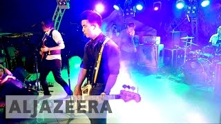 Asian-American band 'The Slants' fights to register name - ALJAZEERAENGLISH
