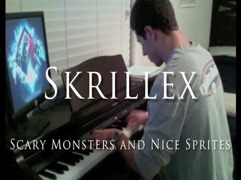 Skrillex - Scary Monsters and Nice Sprites (Piano Cover) -Jez-i9u2g1g