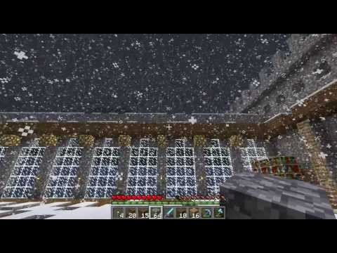 Minecraft LP #18: Survival Castle Build: The Roof of BULLS**T!