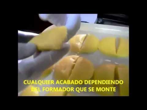 MAQUINA DE EMPANADAS,CUALQUIER TIPO DE MASA O GUISO,UN SOLO OPERADOR.