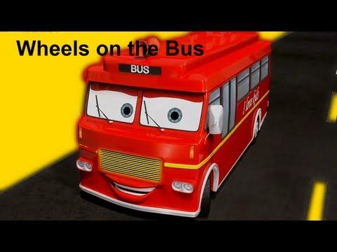 Muffin Songs – Wheels On The Bus Tekerlemeler ve İngilizce Çocuk Şarkıları