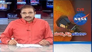 సూర్యుడిపై అమెరికా | NASA Launches Parker Solar Probe In Its First Mission to the Sun | CVR NEWS - CVRNEWSOFFICIAL