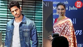 Sidharth Rejected 'Race 3' Due To Daisy Shah | Deepika: 'Romantic Relationships Are Complicated' - ZOOMDEKHO