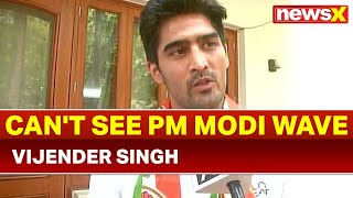 Boxer & Congress candidate from south Delhi Vijender Singh: Joined Congress for people, not politics - NEWSXLIVE