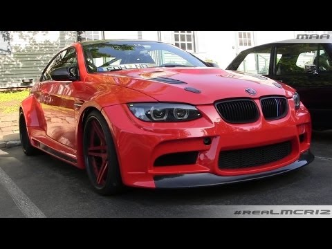 LOUD Vorsteiner GTRS3 BMW M3 Wide Body