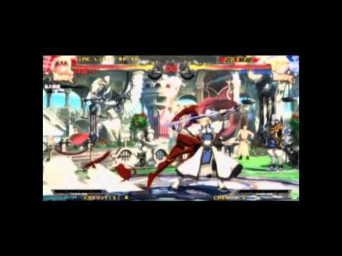 GGXrd - Zato-1 Drill Unblockable combos