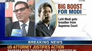NewsX: BCCI warns for allowing Lalit Modi to contest in Rajasthan Cricket elections - NEWSXLIVE