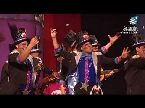 Sesión de Semifinales, la agrupación Catastrophic Magic Band actúa hoy en la modalidad de Comparsas.