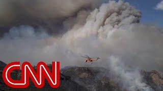 Mom of newborn describes escape from Camp Fire in California - CNN