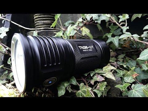 Starke Taschenlampe Thrunite TN 36  - 7300 Lumen | Outdoor AusrüstungTV