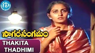 Sagara Sangamam Songs - Thakita Thadhimi Video Song   Kamal Haasan, Jayaprada   Ilayaraja - IDREAMMOVIES