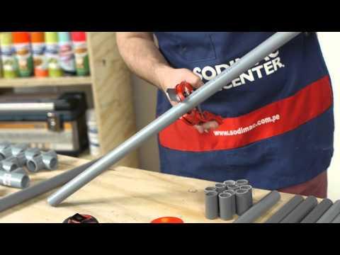 Arma un estacionamiento de bicicletas con tubos de PVC
