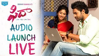 Fidaa Audio Launch Live || Fidaa Movie || Varun Tej, Sai Pallavi || Sekhar Kammula - DILRAJU