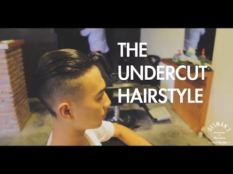 The Undercut Hairstyle (Greaser Rockabilly Hairstyle)
