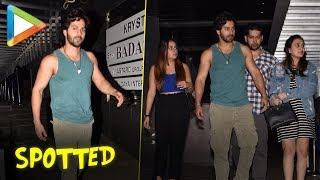 Varun Dhawan spotted on a date with his girlfriend at Hakkasan restaurant - HUNGAMA