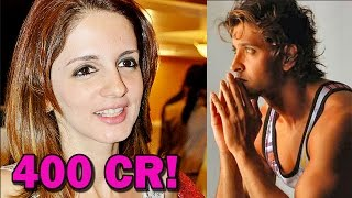 Suzzane Khan demands over 400crores from Hrithik Roshan! | Bollywood News