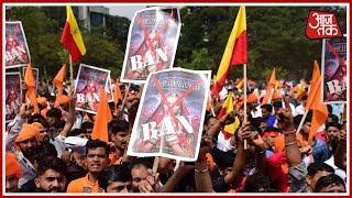 100 Shehar 100 Khabar | Agitation Against 'Padmavati' Intensifies All Over The Country - AAJTAKTV