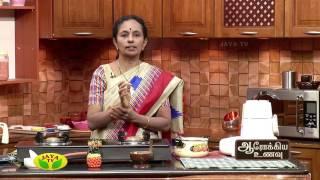 Aarokiya Unavu 08-05-2017 – Jaya TV cookery Show Arokiya Unavu