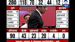 BJP and Sena may join hand to form govt in Maharashtra - ABPNEWSTV